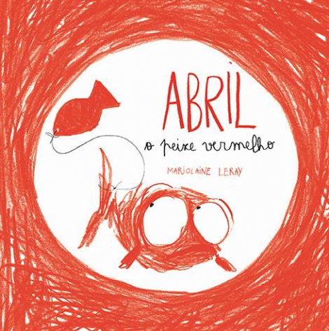 Abril o peixe vermelho